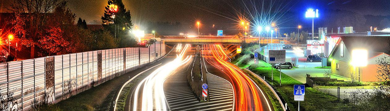 Autobahn A 26 in Stade (Foto: Martin Elsen)