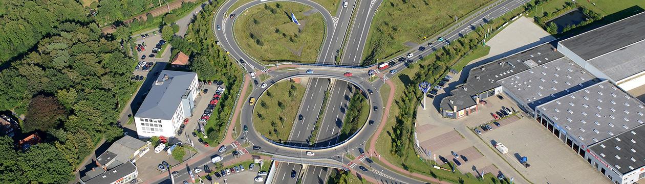 Autobahn-Zufahrt zur A 26 in Stade  (Foto: Martin Elsen)