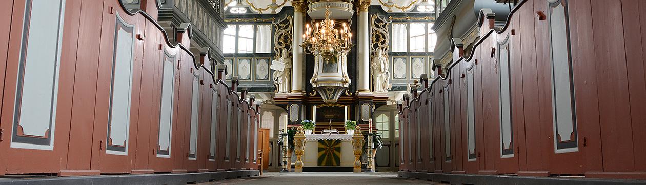In der Kirche St.Martini et Nicolai zu Steinkirchen  (Foto: Martin Elsen)