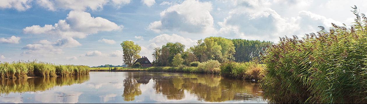 Die Oste bei Kranenburg (Foto: Christian Schmidt)