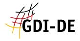 Logo des Geodatenportals der Geodateninfrastruktur Deutschland©Koordinierungsstelle GDI-DE / BKG